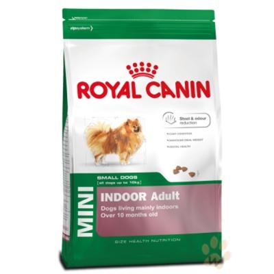 法國皇家 PRIA+8 小型室內熟齡犬專用飼料 1.5KG