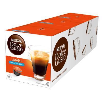 NESCAFE Dolce Gusto 低咖啡因美式濃黑咖啡膠囊
