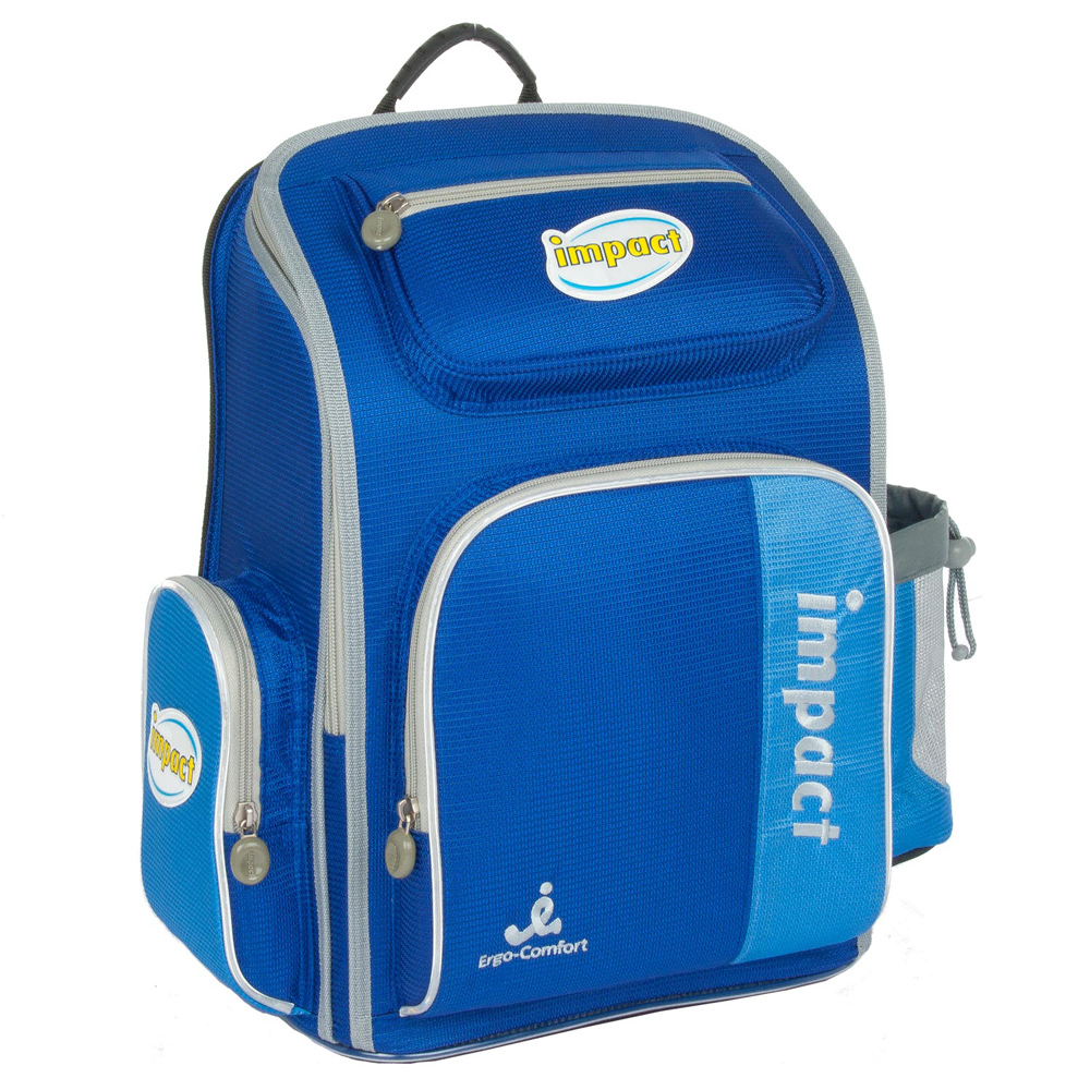 IMPACT-怡寶標準型舒適護脊書包-寶藍IM0037ARB