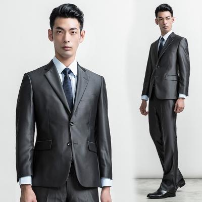 per-pcs 商務紳士修身版西裝外套_黑灰(716302)