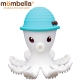 英國 Mombella 樂咬咬章魚固齒器 藍色 product thumbnail 1