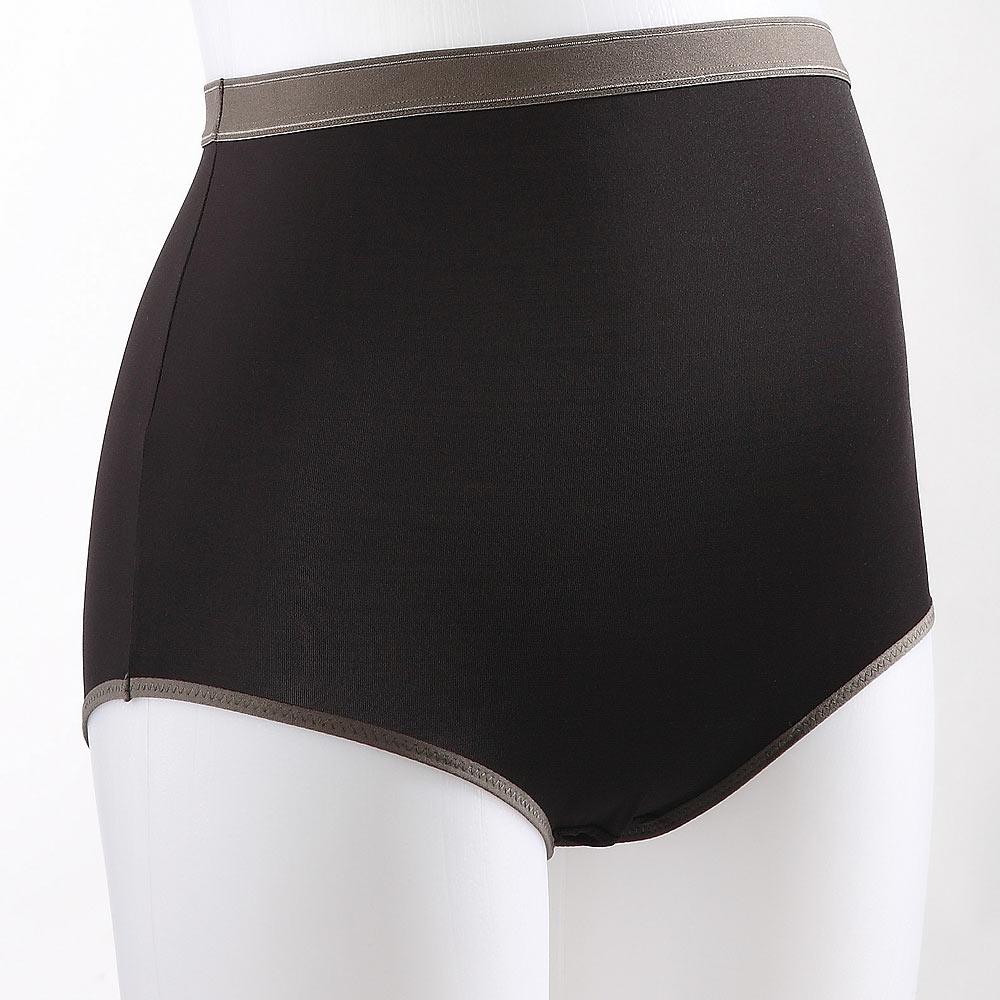 《nini專櫃孕婦裝》運動休閒孕期高腰內褲(M-XL時尚黑)