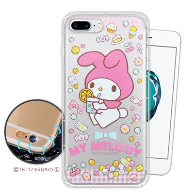 三麗鷗授權Melody iPhone 8Plus/ 7Plus 空壓氣墊手機殼(...