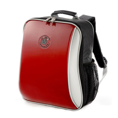 UNME-超輕量繽紛印圖款-鏡紅-後背書包系列