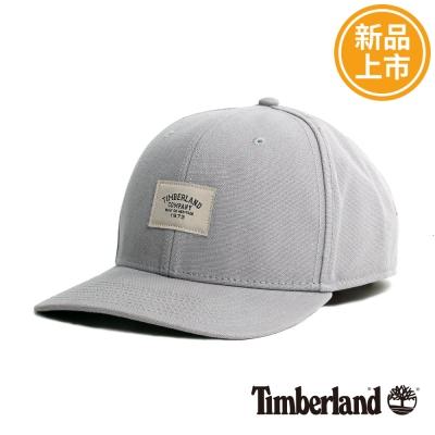 Timberland-淺灰色素面可調式棒球帽