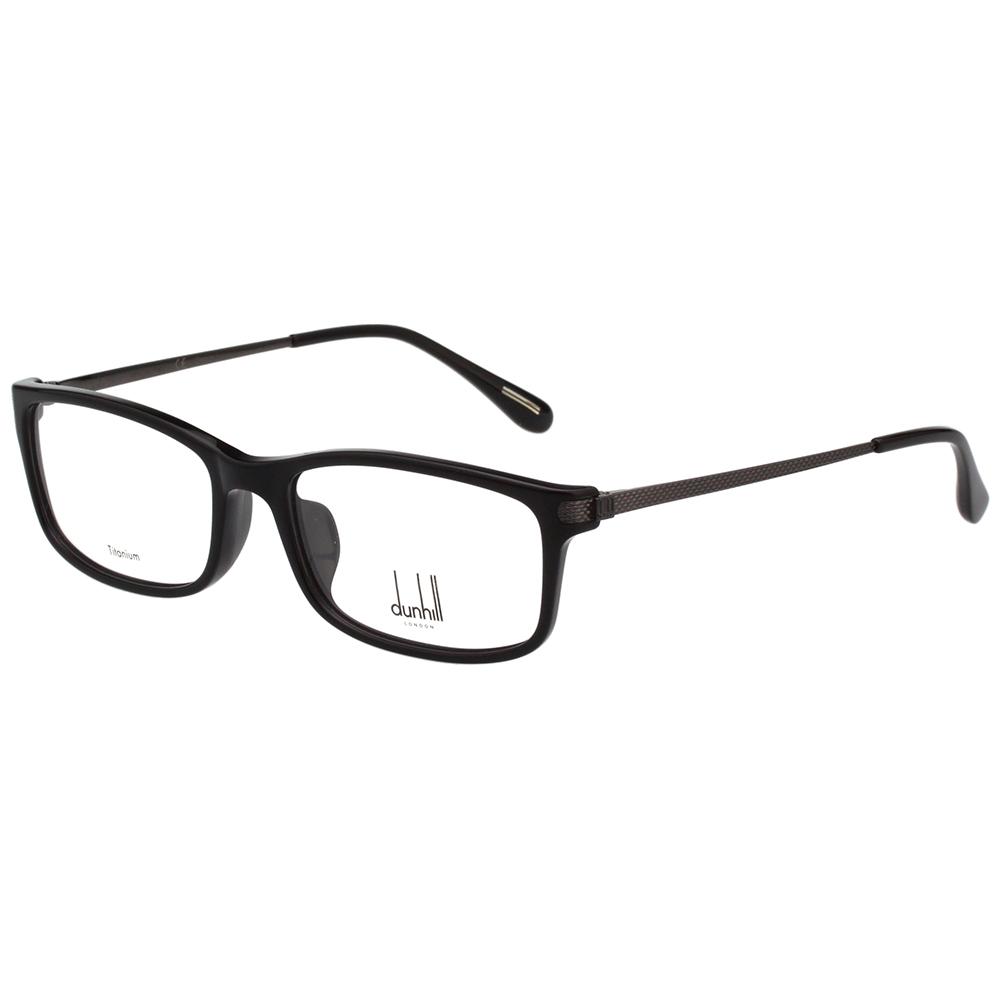 Dunhill 時尚光學眼鏡 (黑色)VDH036G