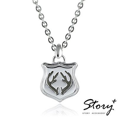 STORY故事銀飾-DEAR.925純銀項鍊-女