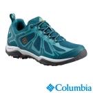 Columbia哥倫比亞 女款-防水低筒健走鞋-湖水藍 UBL17620AQ