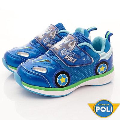 POLI-酷炫電燈運動款-SE1256藍(中小童段)T