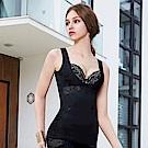 曼黛瑪璉 美型顯瘦 寬肩帶V領背心S-XL(黑)
