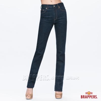 BRAPPERS 女款 女用合身直統牛仔褲-藍