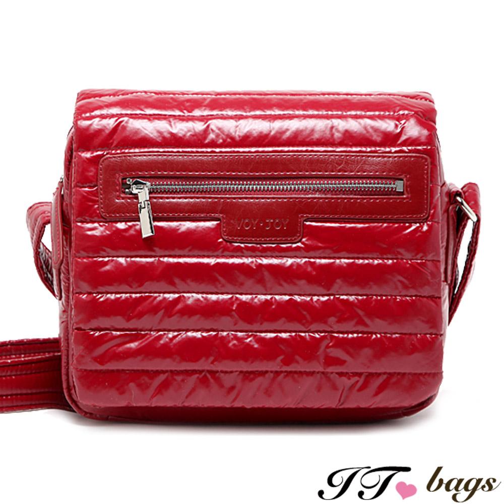 It Bags 肩側包 巴黎可頌菱格輕量空氣側背包 共三色