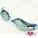 泳鏡 抗UV防霧休閒蛙鏡(2978M-藍) AngelHoney天使霓裳