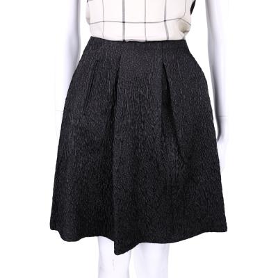 PHILOSOPHY 黑灰色立體浮紋設計及膝裙