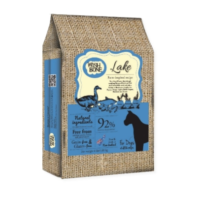 WISHBONE紐西蘭香草魔法 無穀狗香草糧 健走鴨 4磅