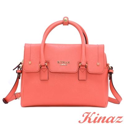 KINAZ 愛戀陽光兩用斜背包-熱帶橘-向日葵系列