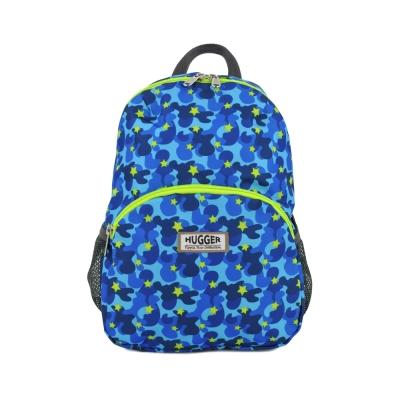 英國Hugger時尚孩童背包-迷彩藍