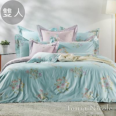 Tonia Nicole東妮寢飾 維納斯環保印染精梳棉兩用被床包4件組(雙人)