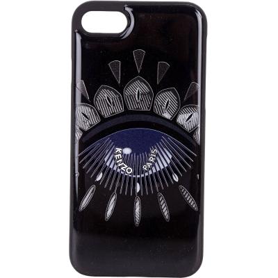 KENZO Nagai Eye iPhone 7 眼睛圖騰塑料手機殼(黑色)