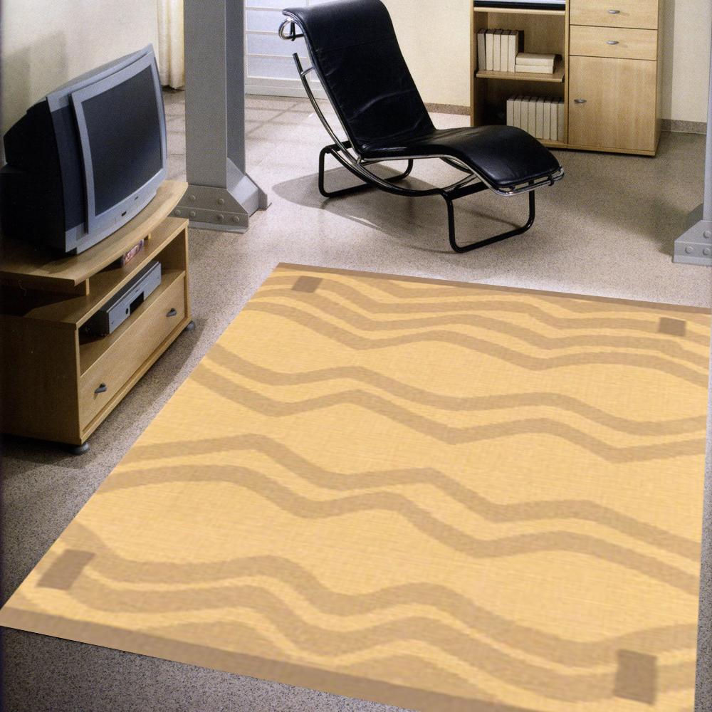 范登伯格 - 優活 進口地毯 -奔(黃-大款) (170x230cm)