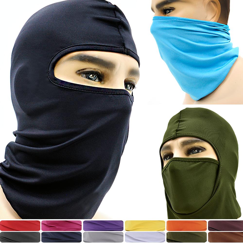 超彈萊卡防曬頭套面罩-急速配