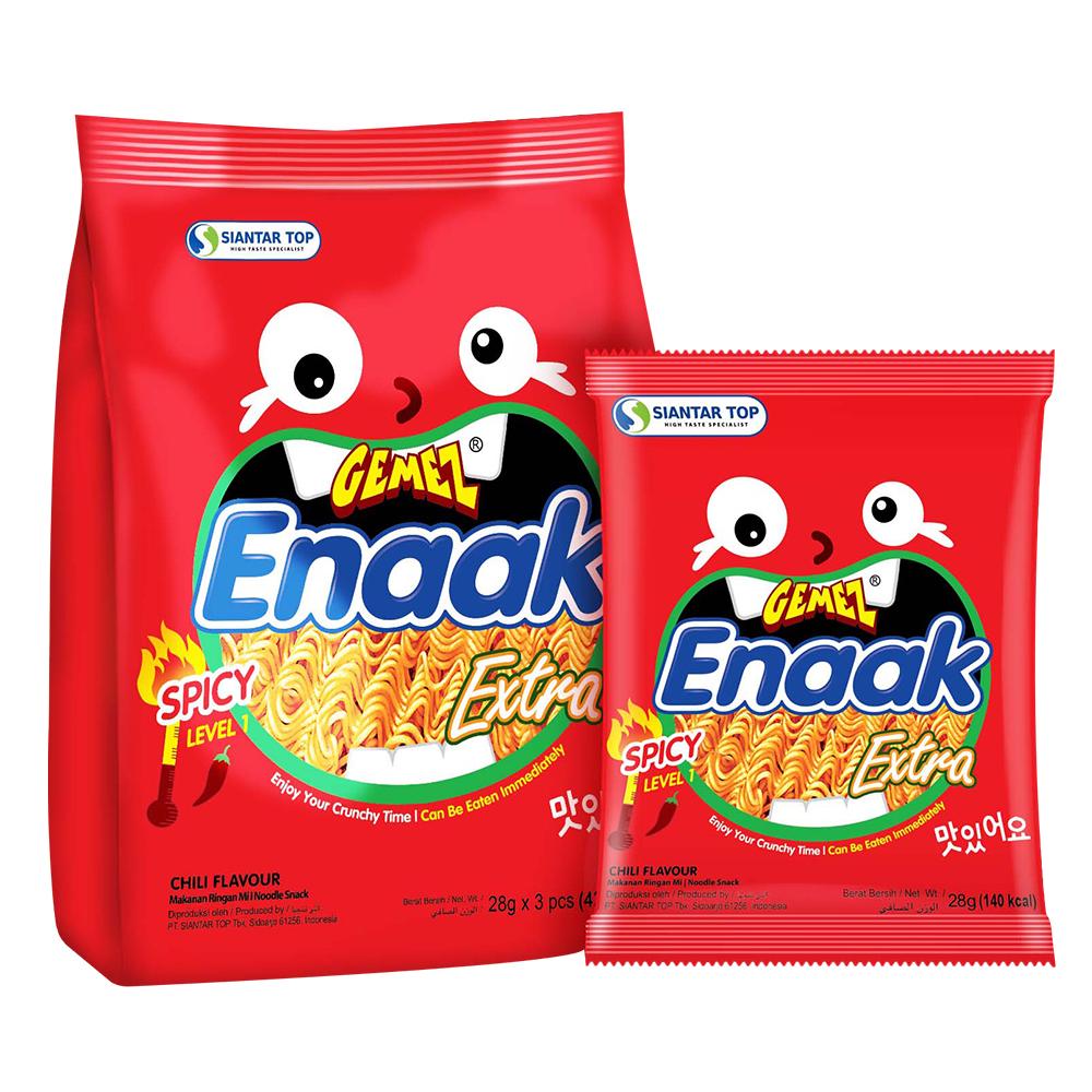 Gemez Enaak 韓式小雞麵-香辣味(28gx3包)