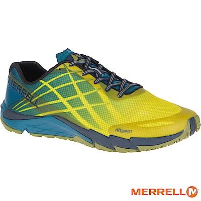 MERRELL BARE ACCESS FLEX 男跑鞋-黃(09665)