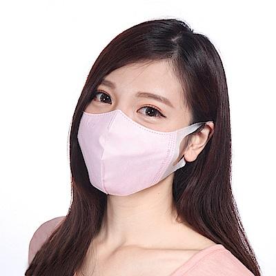 順易利-台灣製-3D立體成人(L)醫用口罩50片/盒-粉紅(一盒)