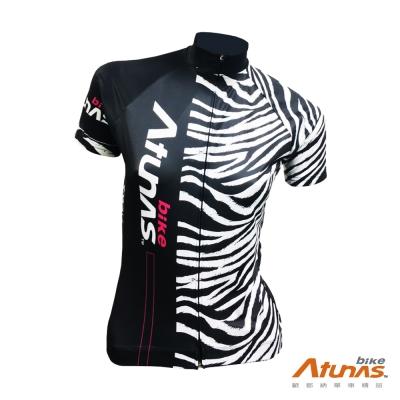 《Atunas Bike》JE15051W RIDE 女短車衣 Zebra