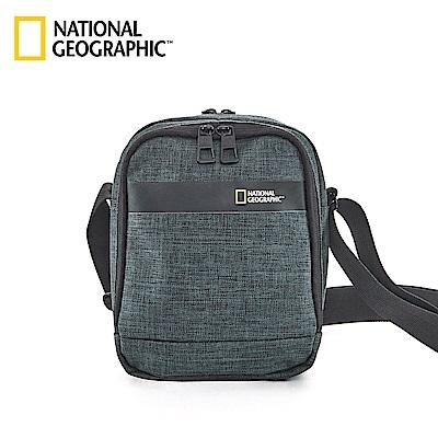 國家地理 National Geographic Stream 無印中型側背包-墨綠