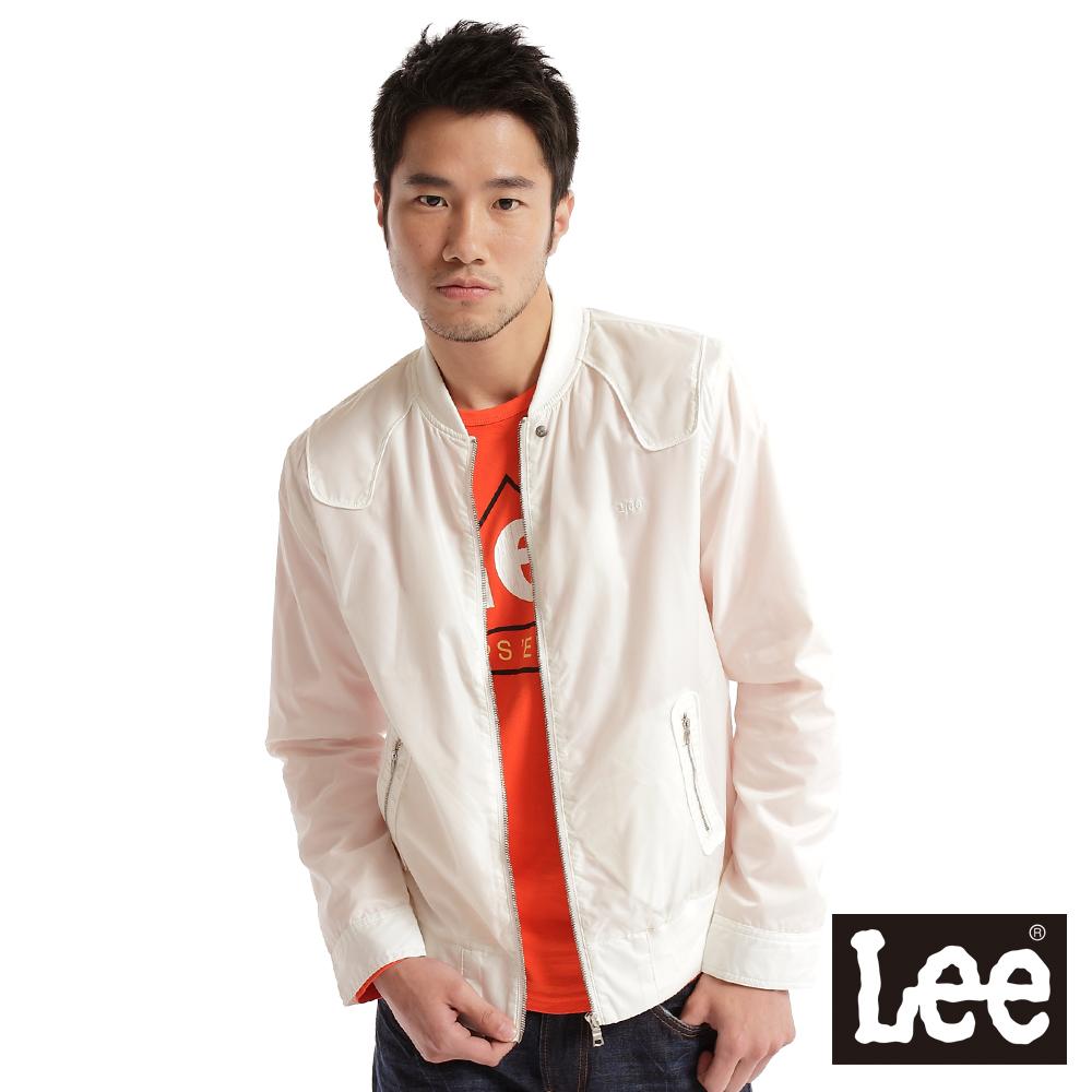 【Lee】休閒外套-男款(白)