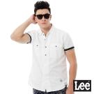 Lee Urban Rider  休閒短袖襯衫-男款-白