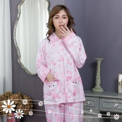 睡衣 可愛小熊貓長袖褲裝睡衣  Emily Sweet