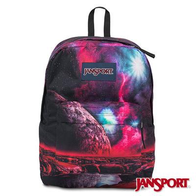 JANSPORT -HIGH STAKES系列校園後背包 -宇宙奧祕