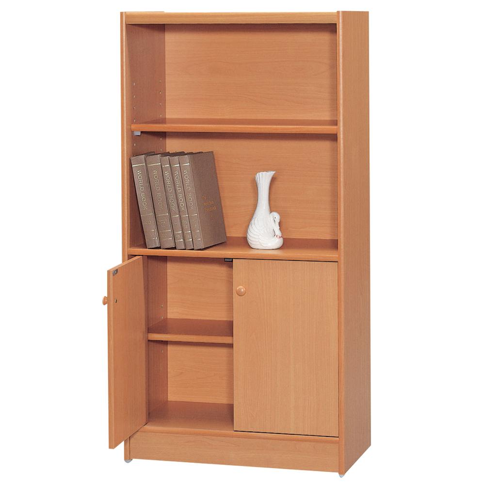時尚屋 豪豐2x4尺1門書櫃 寬60cm 多色可選