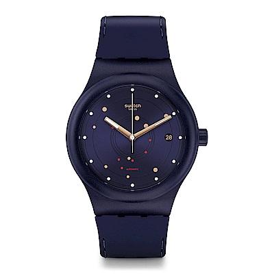 Swatch 51號星球機械錶 SISTEM SEA 奇幻宇宙手錶