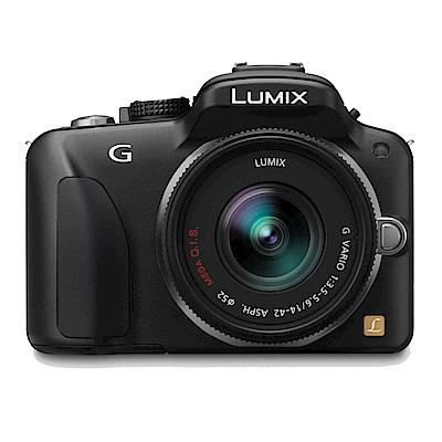 Panasonic Lumix DMC-G3+14-42mm 單鏡組*(中文平輸)-黑色
