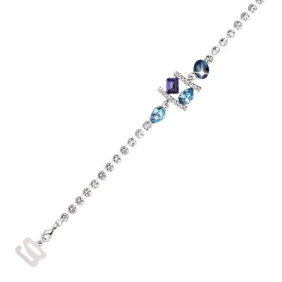 黛安芬-璀璨雙彩菱水晶繞頸肩帶