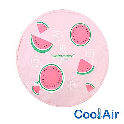 CoolAir 涼感降溫冰涼墊/坐墊 (西瓜)
