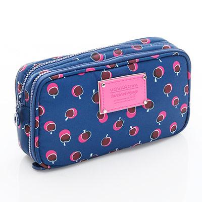 VOVAROVA空氣包-眼妝化妝包-我的小蘋果(富士紅)-法國設計系列