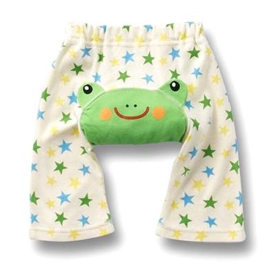 夏季純棉可愛動物造型7分包屁短褲-3件入