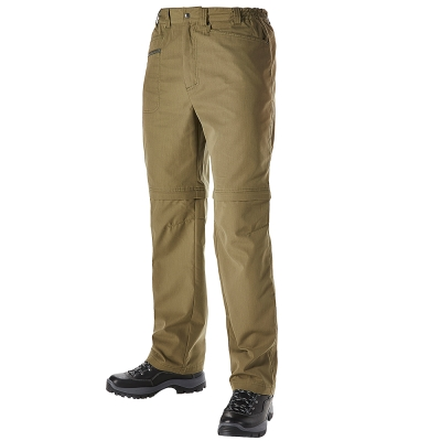 【Berghaus 貝豪斯】男款防潑水抗UV兩截褲S08M01-綠