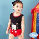 Disney Baby 經典迪士尼附帽連身裝 黑色