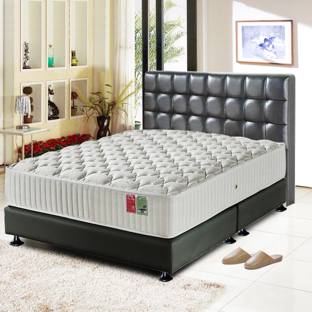 睡尚寶 飯店用蠶絲麵包型蜂巢獨立筒床墊-單人3.5尺