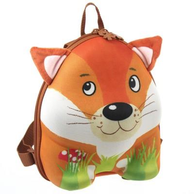 德國okiedog 兒童3D動物造型後背包_狐狸