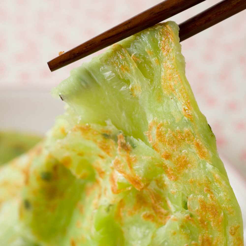蔥媽媽 波菜翡翠純手工蔥抓餅(5片)*10包