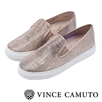 Vince Camuto 潮流休閒百搭平底懶人鞋-金色
