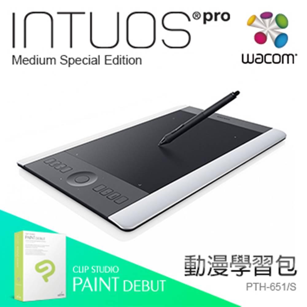 [漫畫學習包] Wacom Intous Pro 繪圖板 PTH-651