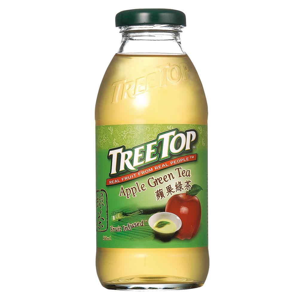 樹頂TreeTop 蘋果綠茶(360mlx4入)