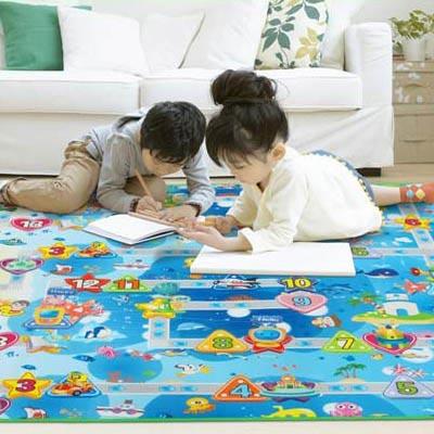 棉花田【海洋假期】遊戲郊遊學步防潮萬用墊(150x180cm)